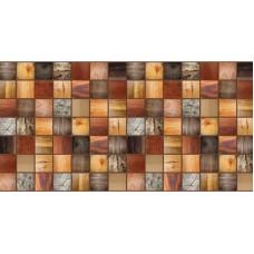 Декоративная панель ПВХ Брус Мореный 955мм*480мм