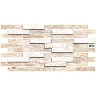 Декоративная панель ПВХ Дуб Беленый 980мм*498мм