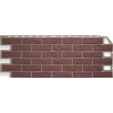 Фасадные панели Альта-Профиль Кирпич Красный
