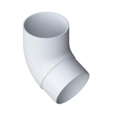 Альта-Профиль Колено трубы 45° ПВХ Элит Белый