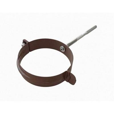 Альта-Профиль Хомут трубы металл Элит коричневый