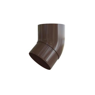 Альта-Профиль Колено трубы 45° ПВХ Элит коричневый