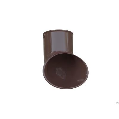 Альта-Профиль Слив трубы ПВХ Элит коричневый