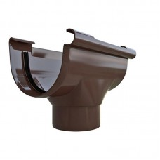 Воронка водосточная ПВХ Альта-Профиль Элит коричневый