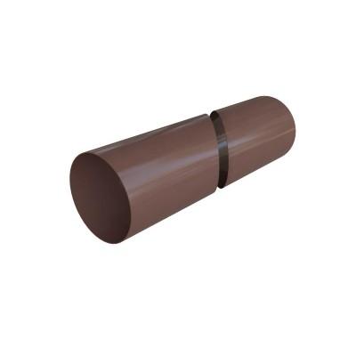 Альта-Профиль Труба водосточная ПВХ 4м D-115 74 Стандарт коричневый