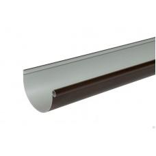 Желоб ПВХ 3м D-115 Альта-Профиль Стандарт Коричневый