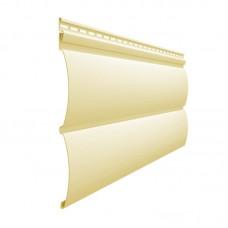 Сайдинг Docke Блок-Хаус банан 3660 мм*240 мм
