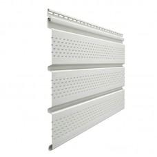 Софит Docke Premium перфорированный  пломбир(Белый) 3000*305 мм