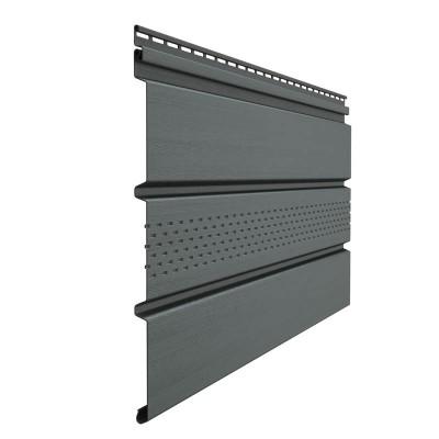 Софит Docke Premium с центральной перфорацией графит