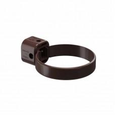 Хомут водосточной трубы универсальный ПВХ Docke LUX D-141/100 шоколад
