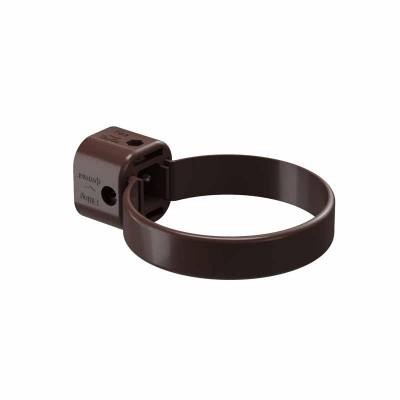 Хомут водосточной трубы Docke LUX D-141 100 Шоколад