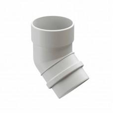 Колено водосточной трубы 45гр ПВХ Docke LUX D-141/100 пломбир