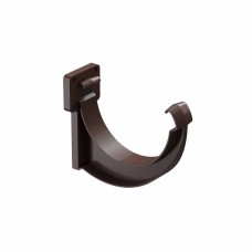 Кронштейн(держатель) водосточного желоба ПВХ Docke LUX D-141/100 шоколад
