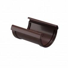 Соединитель желобов ПВХ Docke LUX D-141/100 шоколад