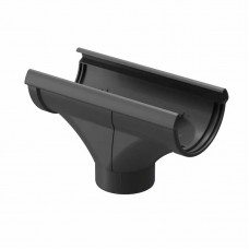 Воронка водосточная ПВХ Docke LUX D-141/100 графит