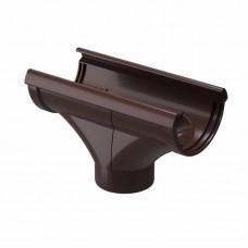 Воронка водосточная ПВХ Docke LUX D-141/100 шоколад