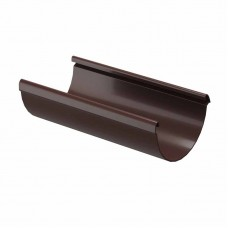 Желоб водосточный ПВХ Docke LUX D-141/100 3м шоколад
