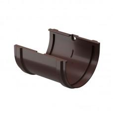 Соединитель желоба Docke Premium  D-120 85 Шоколад