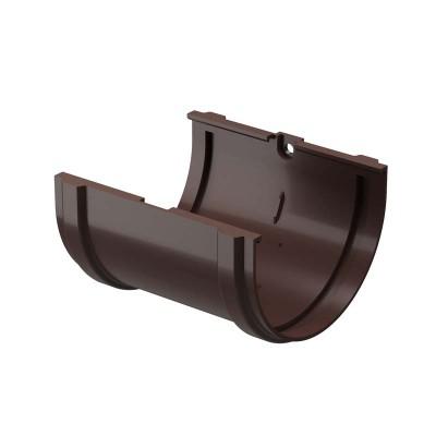 Соединитель желобов Docke Premium D-120 85 шоколад