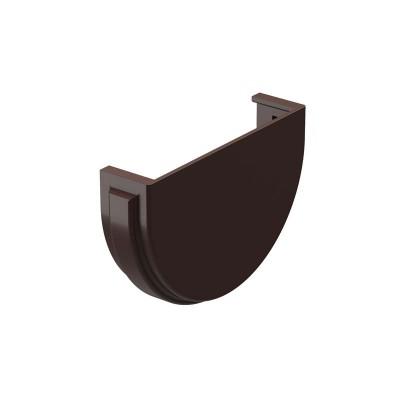 Заглушка желоба Docke Premium D-120/85 шоколад