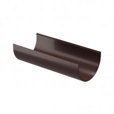 Docke Premium Желоб водосточный D-120/85  3м шоколад