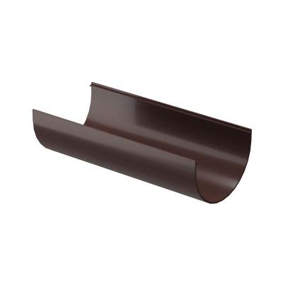 Желоб водосточный Docke Premium 3м шоколад