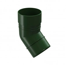 Колено трубы Docke Dacha 45° 120 80 Зеленое