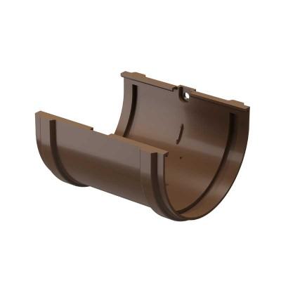 Соединитель желобов Docke Dacha Светло-коричневый