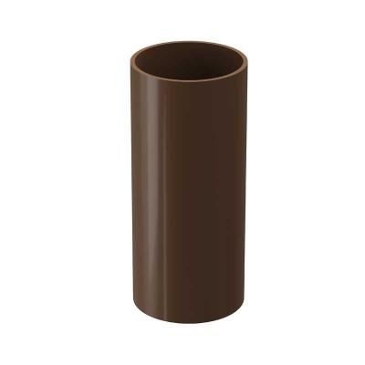 Docke Dacha Труба водосточная 120 80 2м светло-коричневый