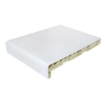 Подоконник ПВХ Мастерпласт Белый матовый 600 мм