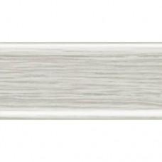Напольный плинтус Rico Leo (112) Ясень серый