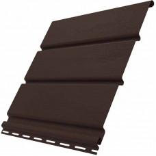 Софит Ю-пласт коричневый без перфорации 3000 мм*300 мм