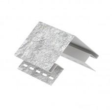 Угол наружный Ю-пласт Сланец Светло-серый 3050 мм