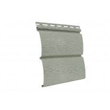 Сайдинг Ю-пласт Timberblock Ясень Прованс Зеленый 3400 мм*230 мм