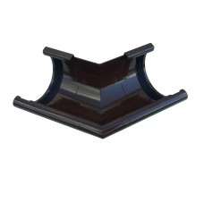Угол желоба наружный 135 градусов 003/135Z Profil D-130 100 Коричневый