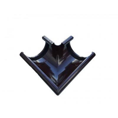 Угол желоба наружный 90 градусов 003Z Profil D-130 100 Коричневый