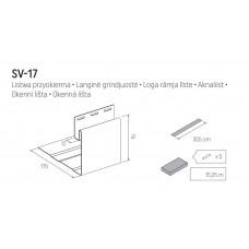 Околооконная планка VOX SV-17 3050 мм