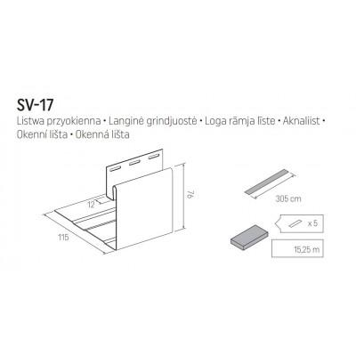 Околооконная планка VOX SV-17