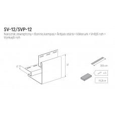 Наружный угол VOX SV-12 3050 мм