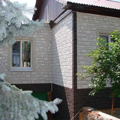 Фасадные панели - Бург Земляной